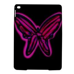 Purple neon butterfly iPad Air 2 Hardshell Cases