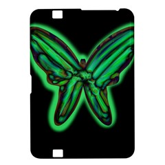Green neon butterfly Kindle Fire HD 8.9