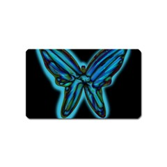 Blue butterfly Magnet (Name Card)