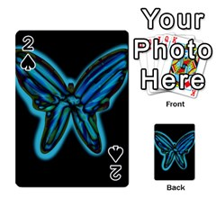 Blue butterfly Playing Cards 54 Designs