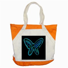 Blue butterfly Accent Tote Bag