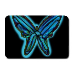 Blue butterfly Plate Mats