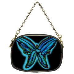 Blue butterfly Chain Purses (Two Sides)