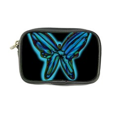 Blue butterfly Coin Purse