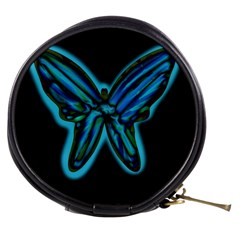 Blue butterfly Mini Makeup Bags