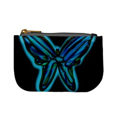 Blue butterfly Mini Coin Purses