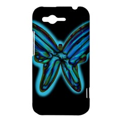 Blue butterfly HTC Rhyme