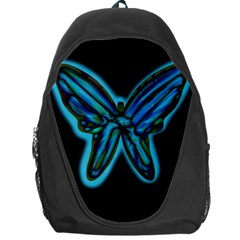 Blue butterfly Backpack Bag