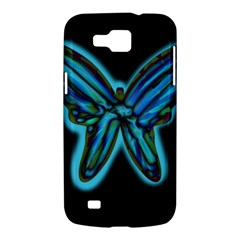 Blue butterfly Samsung Galaxy Premier I9260 Hardshell Case