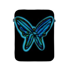Blue butterfly Apple iPad 2/3/4 Protective Soft Cases