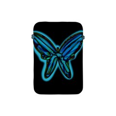 Blue butterfly Apple iPad Mini Protective Soft Cases