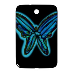 Blue butterfly Samsung Galaxy Note 8.0 N5100 Hardshell Case