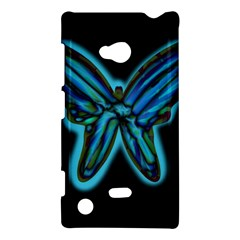 Blue butterfly Nokia Lumia 720
