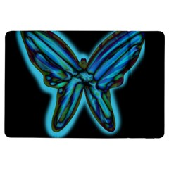 Blue butterfly iPad Air Flip