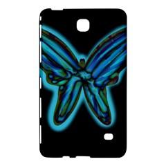 Blue butterfly Samsung Galaxy Tab 4 (7 ) Hardshell Case