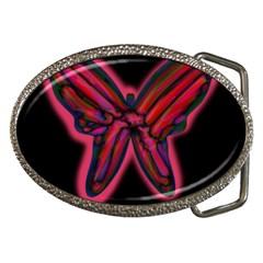 Red butterfly Belt Buckles
