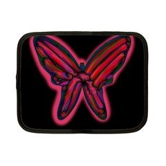 Red butterfly Netbook Case (Small)