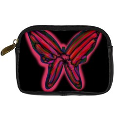 Red butterfly Digital Camera Cases