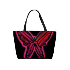 Red butterfly Shoulder Handbags