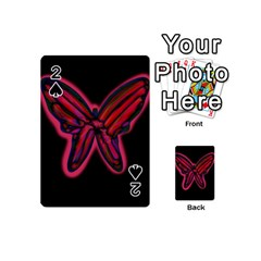 Red butterfly Playing Cards 54 (Mini)