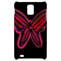 Red butterfly Samsung Infuse 4G Hardshell Case