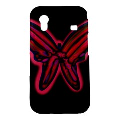 Red butterfly Samsung Galaxy Ace S5830 Hardshell Case