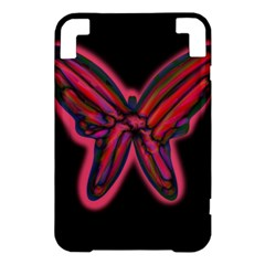 Red butterfly Kindle 3 Keyboard 3G