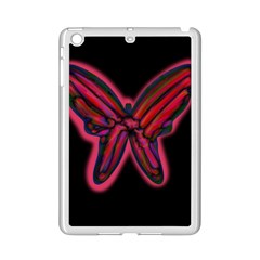Red butterfly iPad Mini 2 Enamel Coated Cases