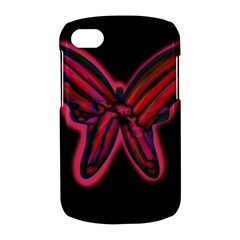 Red butterfly BlackBerry Q10
