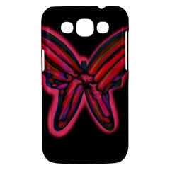Red butterfly Samsung Galaxy Win I8550 Hardshell Case