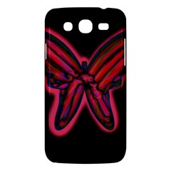 Red butterfly Samsung Galaxy Mega 5.8 I9152 Hardshell Case