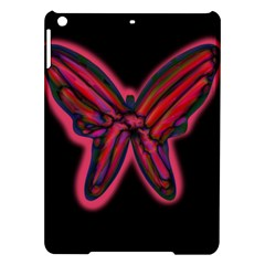 Red butterfly iPad Air Hardshell Cases