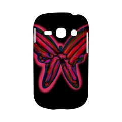 Red butterfly Samsung Galaxy S6810 Hardshell Case