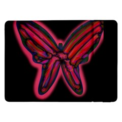 Red butterfly Samsung Galaxy Tab Pro 12.2  Flip Case