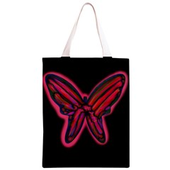 Red butterfly Classic Light Tote Bag