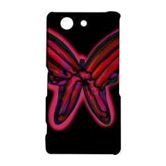 Red butterfly Sony Xperia Z3 Compact