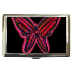 Red butterfly Cigarette Money Cases