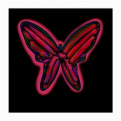 Red butterfly Medium Glasses Cloth (2-Side)