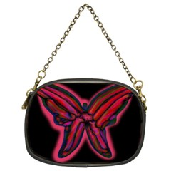 Red butterfly Chain Purses (Two Sides)