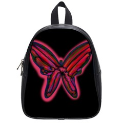 Red butterfly School Bags (Small)