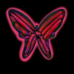 Red butterfly Magic Photo Cubes