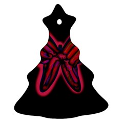 Red butterfly Ornament (Christmas Tree)