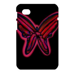 Red butterfly Samsung Galaxy Tab 7  P1000 Hardshell Case