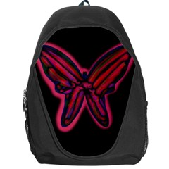 Red butterfly Backpack Bag