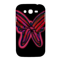 Red butterfly Samsung Galaxy Grand DUOS I9082 Hardshell Case