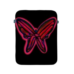Red butterfly Apple iPad 2/3/4 Protective Soft Cases