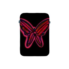 Red butterfly Apple iPad Mini Protective Soft Cases