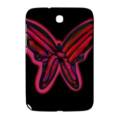 Red butterfly Samsung Galaxy Note 8.0 N5100 Hardshell Case