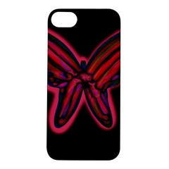 Red butterfly Apple iPhone 5S/ SE Hardshell Case