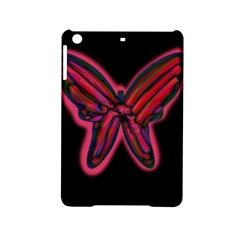 Red butterfly iPad Mini 2 Hardshell Cases